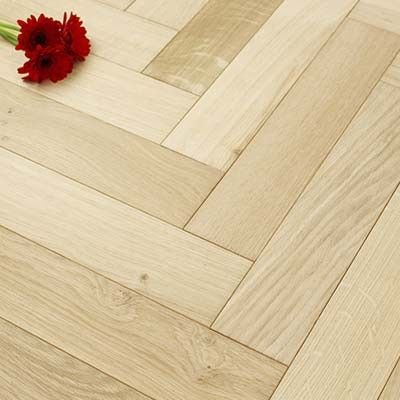 90mm Unfinished Engineered Oak Parquet Block Wood Flooring 1.8144m²