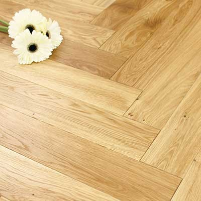 100mm Brushed & Oiled Engineered Oak Parquet Block Wood Flooring 0.5m2