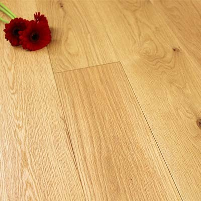 150mm Brushed & Lacquered Engineered Rustic Oak Wood Flooring 1.71m²
