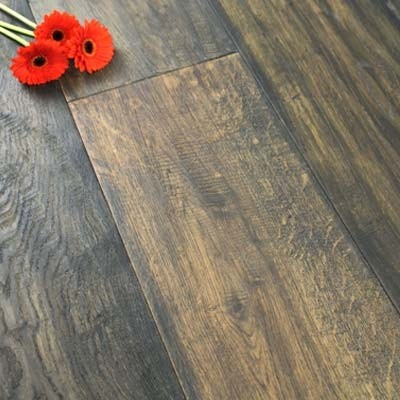 240mm Oiled Engineered Cathedral Oak Wood Flooring 2.64m²