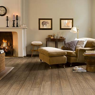 Quick-Step Impressive Scraped Oak Grey Brown IM1850 Laminate Flooring