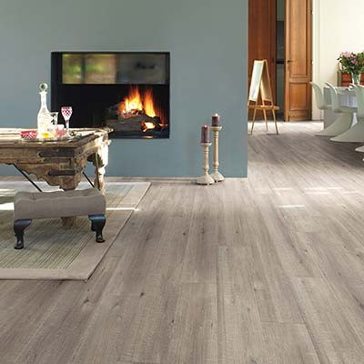 Quick-Step Impressive Saw Cut Oak Grey IM1858 Laminate Flooring