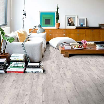 Quick-Step Impressive Ultra Concrete Wood Light Grey IMU1861 Laminate Flooring
