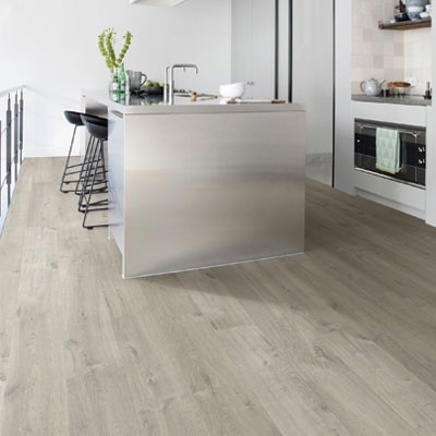 Quick-Step Impressive Soft Oak Grey Planks IM3558 Laminate Flooring