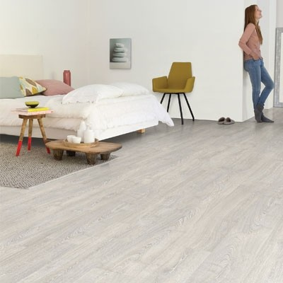 Quick-Step Impressive Patina Classic Oak Grey Planks IM3560 Laminate Flooring