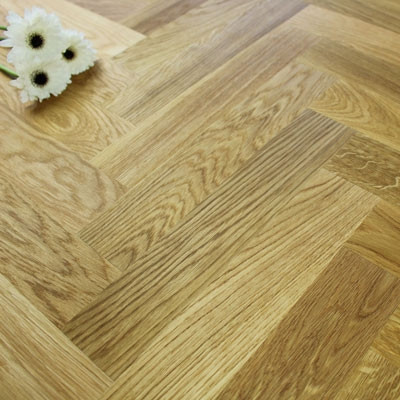 Engineered Rustic Oak Oiled Parquet Block Wood Flooring 1.47m²