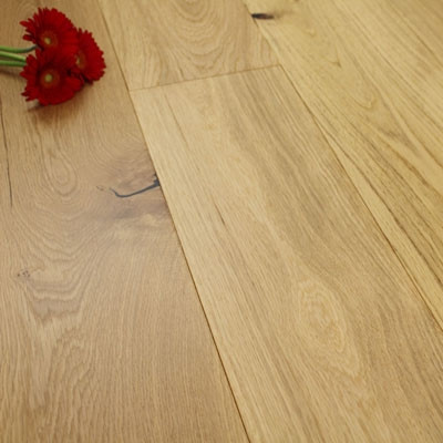 190mm Matt Lacquered Engineered Oak Wood Flooring 1.80m²