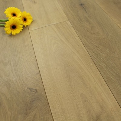 190mm Oiled Engineered Ash Grey Oak Wood Flooring 2.89m²