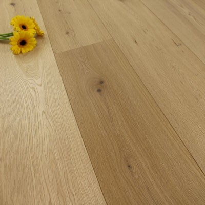 189mm Oiled Engineered Clarion Oak Wood Flooring 2.81m²