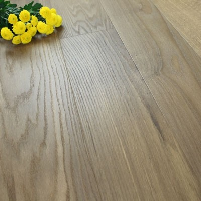 182mm Brushed & Natural Oiled Engineered Double Latte Click Wood Flooring 2.4m²
