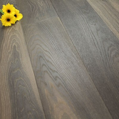 182mm Brushed & Natural Oiled Engineered Oak Deep Clay Click Wood Flooring 2.4m²
