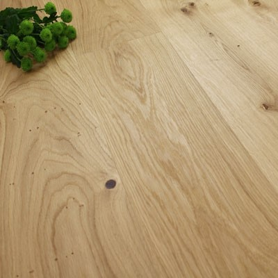 222mm Brushed & Natural Oiled Engineered Classic Heritage Click Wood Flooring 2.93m²