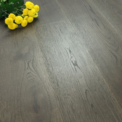 182mm Brushed & Natural Oiled Engineered Night Horizon Click Wood Flooring 2.4m²