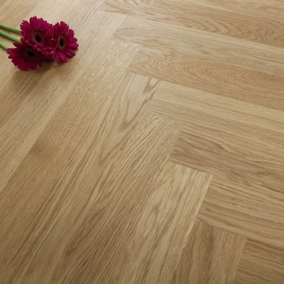 70mm Engineered Brushed & Oiled Natural Oak Parquet Block Wood Flooring 1.68m²