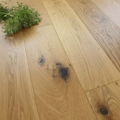 150mm Engineered Rustic UV Oiled Oak Wood Flooring 2.28m²