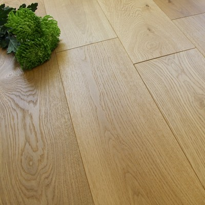 190mm Engineered Rustic Brushed and Oiled Oak Wood Flooring 2.09m²