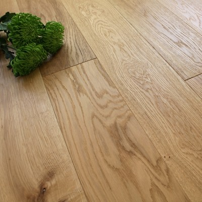 150mm Engineered Brushed and Oiled Natural Oak Wood Flooring 1.98m