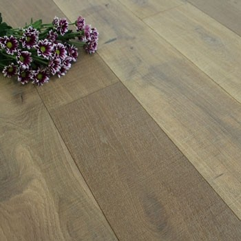 189mm Smoked & Hand Sawn Engineered Oak Wood Flooring 2.812m²