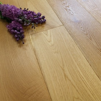 189mm Rustic Brushed & Oiled Engineered Oak 20mm Wood Flooring 2.11m²