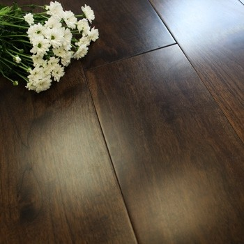 189mm Lacquered Engineered American Black Walnut 21mm Wood Flooring 1.383m2