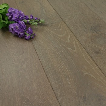190mm Handscraped & UV Oiled Engineered Fossil Oak Wood Flooring 2.17m²