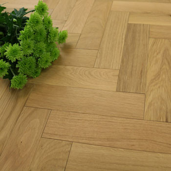 70mm Engineered Natural Oiled Parquet Block Wood Flooring 0.588m²