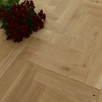 70mm Unfinished Rustic Parquet Block Solid Oak Wood Flooring 0.98m2²