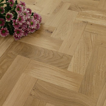 70mm Unfinished Rustic Parquet Block Solid Oak Wood Flooring 0.81m2²