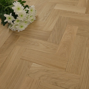 70mm Unfinished Prime Parquet Block Solid Oak Wood Flooring 0.81m2²