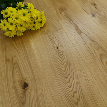 187mm Engineered Brushed & Oiled Natural Oak Wood Flooring 2.72m²