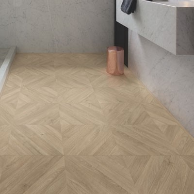 Quick-Step Impressive Patterns Chevron Oak Taupe IPA4164 Laminate Flooring 1.901m²