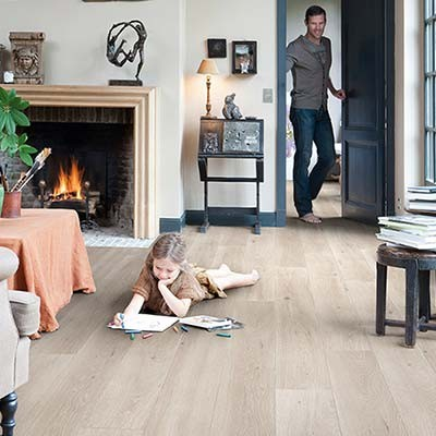Quick-Step Largo Long Island Oak Light Planks LPU1660 Laminate Flooring