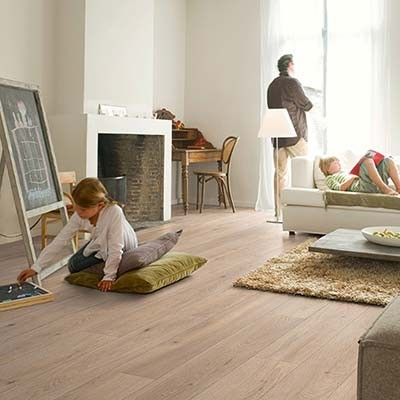 Quick-Step Largo Long Island Oak Natural Planks LPU1661 Laminate Flooring