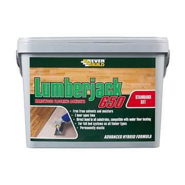 Ever Build Lumberjack 650 14kg Flexible Wood Flooring Adhesive