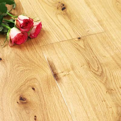 180mm Oiled Engineered Bradgate Oak Click Wood Flooring 2.27m²