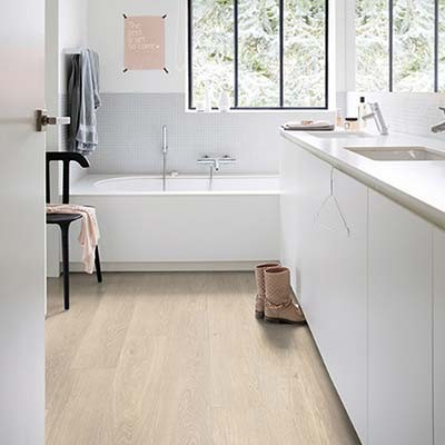 Quick-Step Livyn Pulse Click + Sea Breeze Oak Beige PUCP40080 Vinyl Flooring