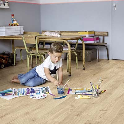 Quick-Step Livyn Pulse Click + Autumn Oak Light Natural PUCP40087 Vinyl Flooring