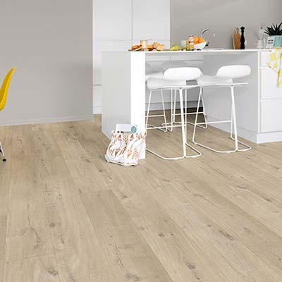 Quick-Step Livyn Pulse Click Cotton Oak Beige PUCL40103 Vinyl Flooring