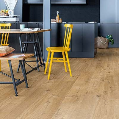 Quick-Step Livyn Pulse Click + Cotton Oak Natural PUCP40104 Vinyl Flooring