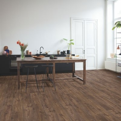 Quick-Step Livyn Pulse Click + Autumn Oak Chocolate PUCP40199 Vinyl Flooring