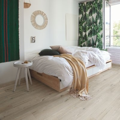 Quick-Step Livyn Pulse Click + Cotton Oak White Blush PUCP40200 Vinyl Flooring
