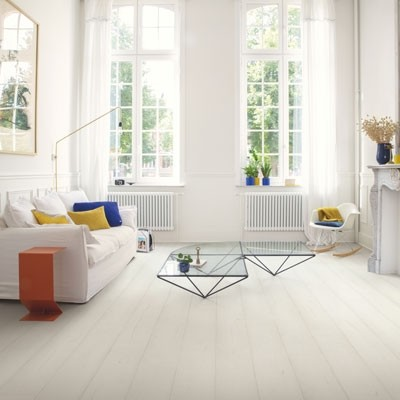 Quick-Step Signature Painted Oak White SIG4753 Laminate Flooring 2.048m²