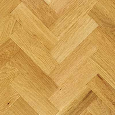 70mm Unfinished Prime Parquet Block Solid Oak Wood Flooring 0.96m²