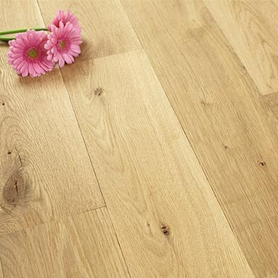 150mm Unfinished Natural Solid Oak Wood Flooring 1m²