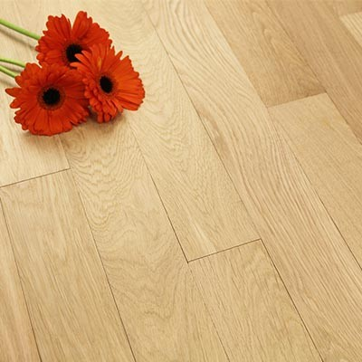 89mm Unfinished Prime Solid Oak Wood Flooring 1m²
