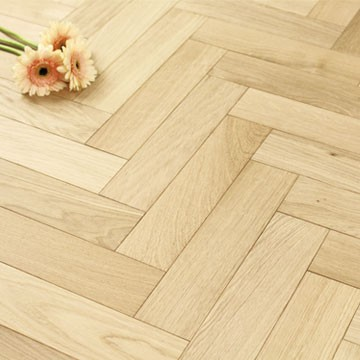 70mm Unfinished Engineered Oak Parquet Block Wood Flooring 0.588m²