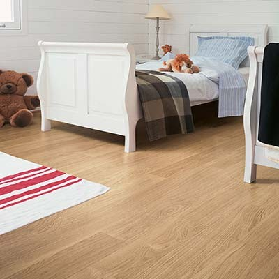 Quick-Step Eligna White Varnished Oak Planks U915 Laminate Flooring