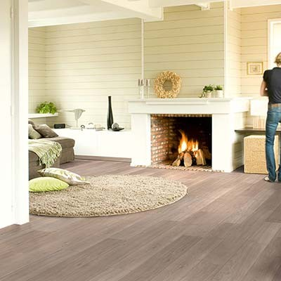 Quick-Step Elite Light Grey Varnished Oak Planks UE1304 Laminate Flooring