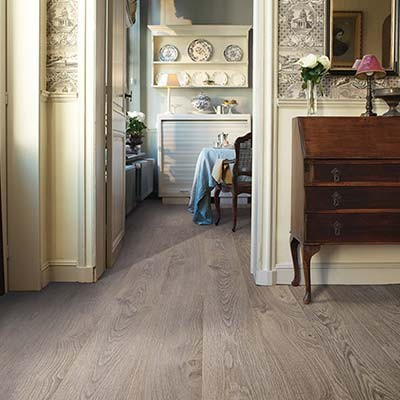 Quick-Step Elite Old Oak Light Grey Planks UE1406 Laminate Flooring