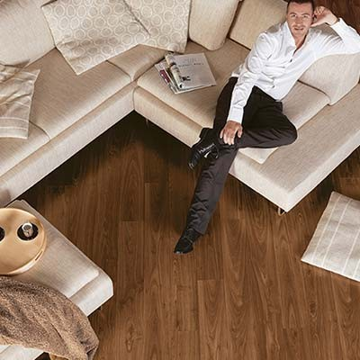 Quick-Step Perspective Oiled Walnut Planks 4 Groove UF1043 Laminate Flooring